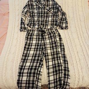VICTORIA'S SECRET Plaid Pajamas